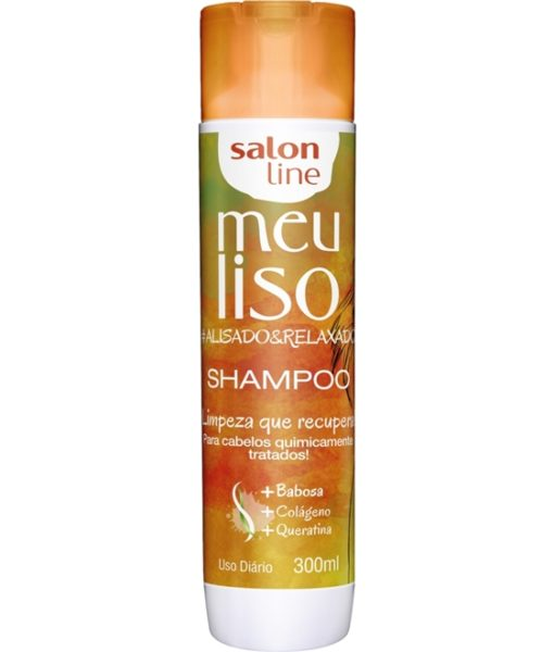 Salon Line Shampoo Meu Liso 300ml R$ 17,90