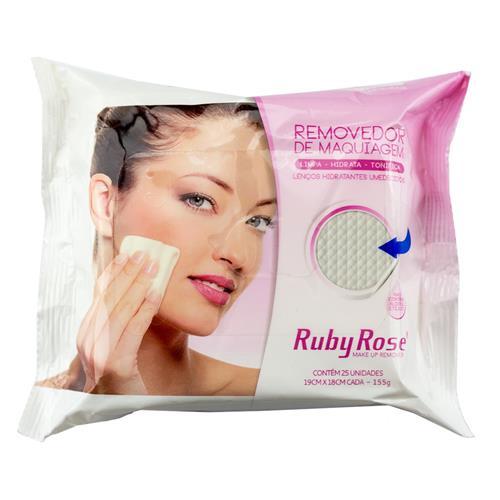 Ruby Rose Lenço Demaquilante R$ 9,90 cada